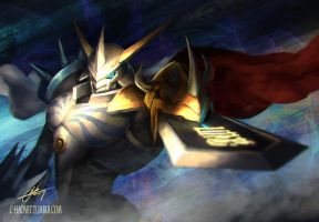 Omegamon by C-HaoArt