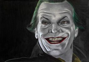 Joker Jack Nicholson by donchild