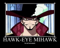Mihawk Motivational Poster by 9Natasha4