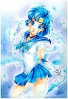 Water Dreams Sailor Merkur by Naschi