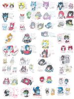 collection of Transformers drawings 1 by Kittychan2005