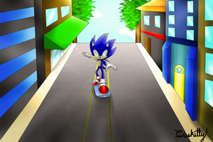 Escaping the City by Crisskitty