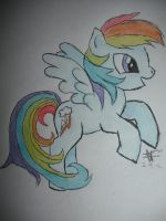 .:Rainbow Dash:. by DreamDrifter91