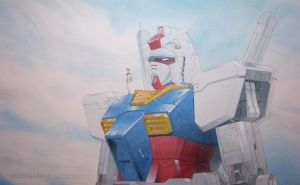 Gundam 30th Anniversary by Dtronaustin