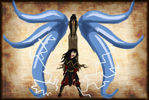 Ming Hua and Azula by Jeanbiscuit