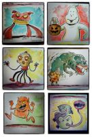 The Real Ghostbusters cartoon art! by littlereddog