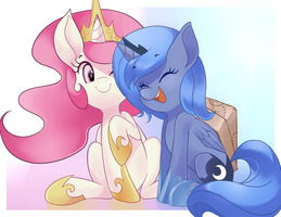 B.C print: Princess cuties by Sallymon