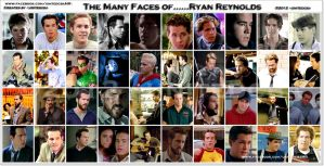 The Many Faces of Ryan Reynolds by unitedcba