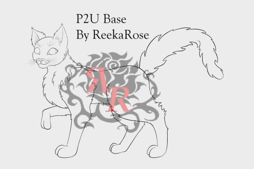 P2U: Cat Base 2 by ReekaRose