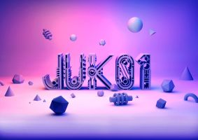 Juk01 Typeface by andreasleonidou