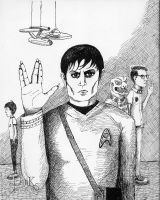 Barnabas Collins: Trekkie! by cochue