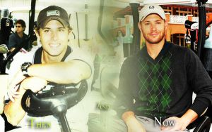Jensen Ackles golf wallpaper 2 by monkeyJade