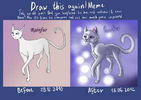 Draw this again - Rainfur by AntharesMK