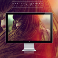 {Wallpaper - Natural Woman} by Poqi
