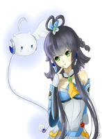 Vocaloid: Luo Tianyi by Pengy97