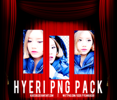 Hyeri PNG Pack by kaixsoo