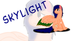 mlp SkyLight by swiffer-the-alicorn