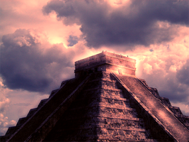 Chichen Itza by Hallovv