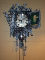 ' JAKS CLOCK' by KARLCLAYDON