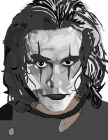 The Crow No Pen work 3 by daylover1313