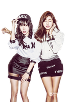 Raina y UEE (After School) PNG [Render] by GAJMEditions