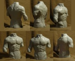 Torso sculpture by EthicallyChallenged