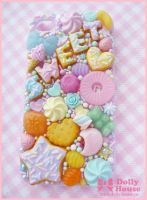-Pastel Candies- iPhone4 case  by Dolly House by SweetDollyHouse