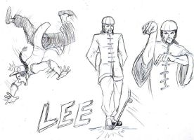 Street Fighter One: Lee by GarthTheDestroyer