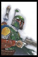 Boba Fett by voya