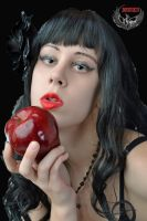 Eating the forbidden fruit by Damien2011