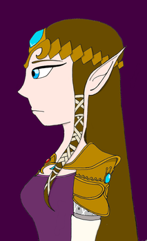 Princess Zelda by jennyD2014