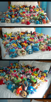 The Other Shots Of My Pokedoll Collection by Fishlover