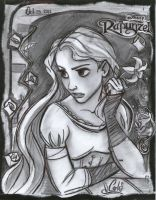 Tangled Rapunzel by Carlks
