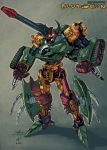 Cybertron Bludgeon by dcjosh