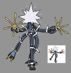 Pokemon SM Re-Draw: UB Guzma? by Midnitez-REMIX