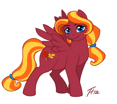Art Trade: Autumn Gale by Dembai