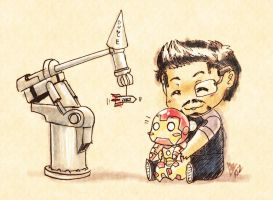 Iron Man 3: Bouncing Baby Mk 42 by nururuateka