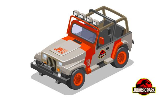 jurassic park jeep by chicagocubsfan24