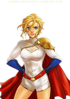 Powergirl by ZombieDaisuke