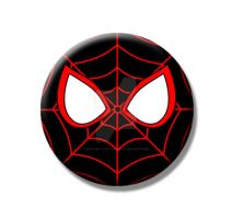 Ultimate Spider-Man Button by Mutant-Cactus