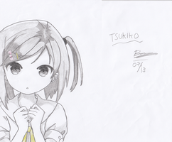 Tsukiko ! (Scanned Version) by verluxez