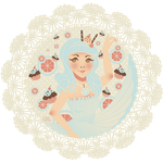 Cupcake Queen Katy Perry by ClauCobos