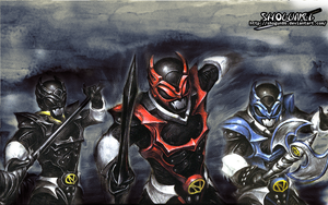 Jaden Sentai Nejiranger Wallpaper by ShoguN86