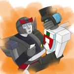 Wheeljack and Blue by gtgoten