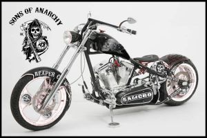 Sons of Anarchy Chopper by HBsuperman