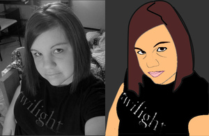 Me...vector style by dream-n-pink