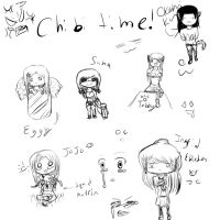 CHIBI TIME by AdenChan