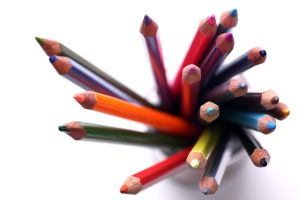 Coloured Pencils - Macro by AdamShepherd