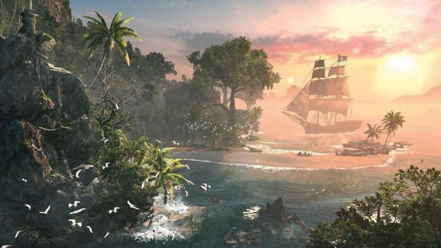 Assassin's Creed 4: Caribbean Islands by applejack324