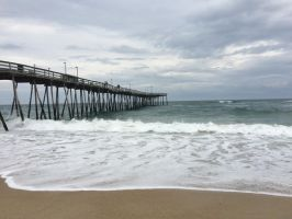 Stormy Days by the Pier by moonlightmist0101